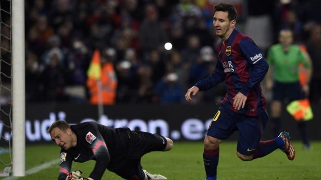 Lionel Messi's Winner