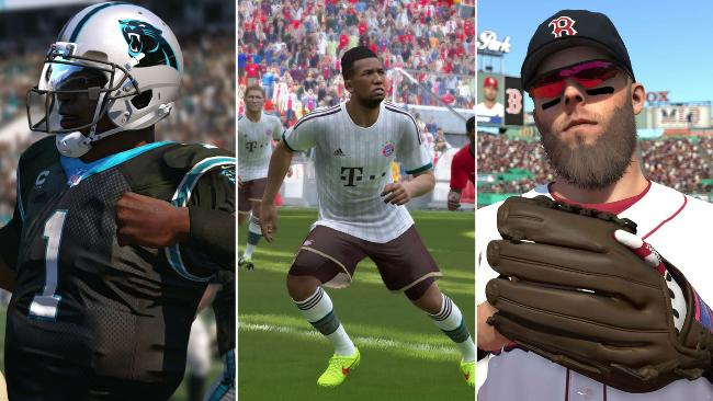 The top five of sports video game in 2015
