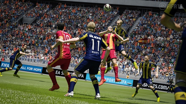 FIFA 15 ranks ninth in The IGEA Top Ten Chart in New Zealand Week 9
