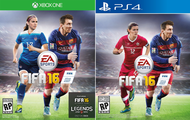 FIFA16:Lionel Messi Comes Out on Top in the Player Ratings