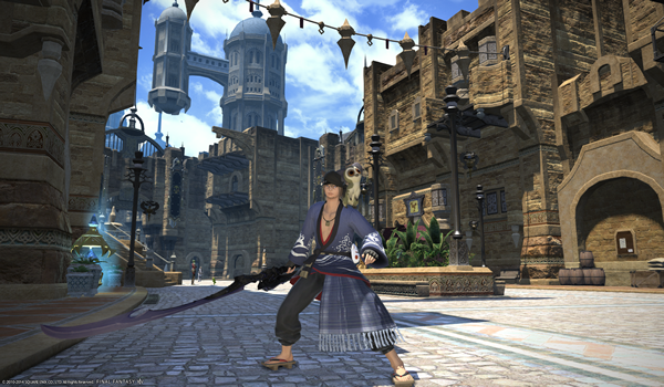 Final Fantasy XIV Two New Job-Red Mage And Samurai Details